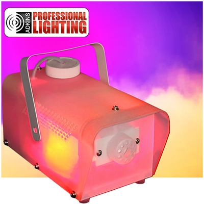 Fog Machine with Multi Colored LED Lights W/Remote