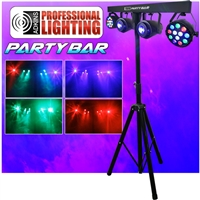 Party Bar - LED DJ Lighting - Includes Stand