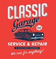 Classic Garage Screen Print