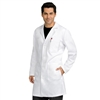 Med Couture Men's Long Lab Coat in White