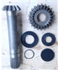 Replacement gear set for John Deere MX5 and MX6 mowers