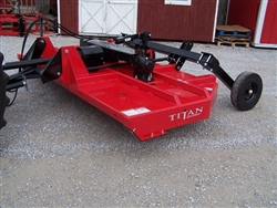 New Titan 10' Pull Type Brush Cutter