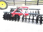 New TRI HD 8ft. (3 point) Disc Harrow