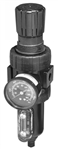 "Balcrank 3260-036 1/2"" 1-Piece Piggy Back Filter Regulator"