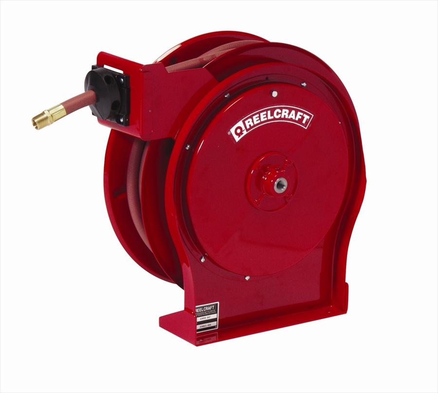 """ReelCraft 5635 OLP Low Pressure Air/Water Hose Reel 3/8"""" I.D."""