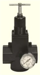 "Arrow Pneumatics R398G 1"" Regulator with Gauge"