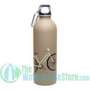 EarthLust 1 Liter Bike Stainless Steel Water Bottle