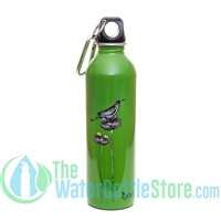 EarthLust 20 oz Bird Cage Stainless Steel Metal Water Bottle