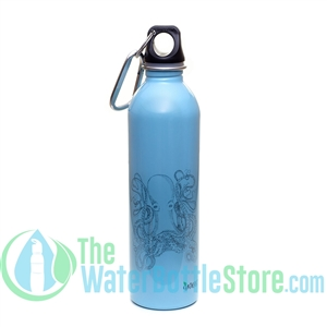 EarthLust 20 oz Octopus Stainless Steel Metal Water Bottle
