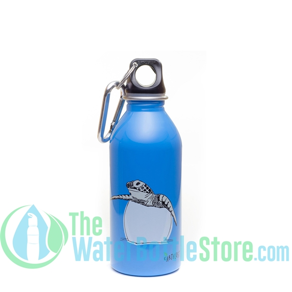 EarthLust 13 oz Turtle Stainless Steel Metal Water Bottle
