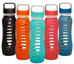 SURF Single Wall Glass Water Bottle - 22 Oz by EcoVessel