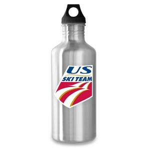 40oz stainless steel water bottle usa ski team new wave enviro