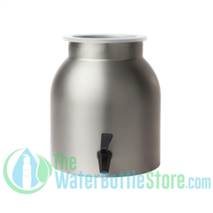 2 Gallon Stainless Steel Water Dispenser Crock New Wave Enviro