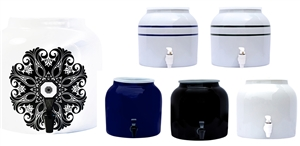 New Wave Enviro Porcelain Water Dispenser Crock