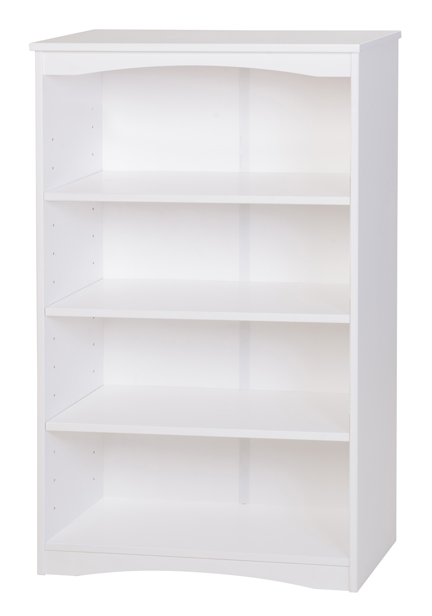 Camaflexi Essentials Wooden Bookcase 48 Quot High White Finish