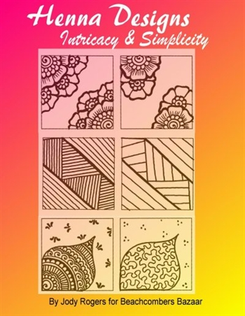 Henna design eBook teaches you how to simplify difficult henna designs. Henna techniques to keep the integrity of the original design while making it easier and quicker to complete.