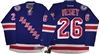 Reebok Premier 90th Anniv/ 100th NHL Anniv New York Rangers #26 Jimmy Vesey Home Jersey