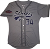Pro Style Long Island Sharks Majestic Cool Base Jersey