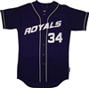 Pro Style Port Jeff Royals Majestic Cool Base Jersey