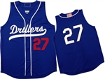 Augusta Tidewater Drillers  Sleeveless Button Front with Braid