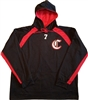 Chiefs Hooded Black Sweatshirt
