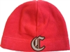 Chill Fleece Red Beanie
