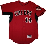Authentic Connetquot Chiefs Majestic Cool Base BP Jersey