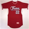 Authentic Team Freedom Majestic Cool Base BP Jersey