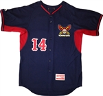 Authentic Majestic Coolbase Islip Owls BP Jersey