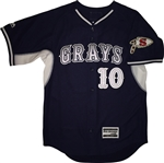 Authentic Majestic Sachem Grays Cool Base BP Jersey