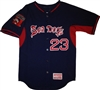 Authentic Long Island Sea Dogs Majestic Cool Base BP Jersey