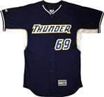 Authentic Long Island Thunder Majestic Cool Base Jersey