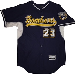 Authentic North Shore Bombers Majestic Cool Base Jersey