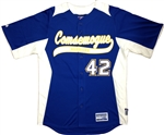 Authentic Comsewogue Warriors Majestic Cool Base Jersey