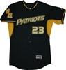 Authentic Ward Melville Patriots Majestic BP Cool Base Jersey
