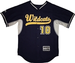 Authentic Majestic Wildcats Cool Base BP Jersey