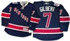 Official Reebok Premier New York Rangers #7 Rod Gilbert Heritage Jersey