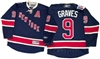 Official Reebok Premier New York Rangers #9 Adam Graves Heritage Jersey