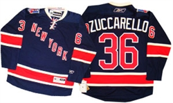 Official Reebok Premier New York Rangers #36 Zuccarello Heritage Jersey