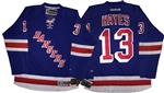 Official Reebok Premier New York Rangers #13 Kevin Hayes Home Blue Jersey