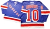 Official CCM 550 New York Rangers #10 Ron Duguay Jersey