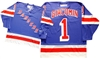 Official CCM 550 New York Rangers #1 Ed Giacomin Jersey