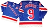 "Official CCM 550 New York Rangers ""A"" #9 Adam Graves Jersey"