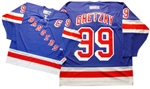 "Official CCM 550 New York Rangers ""C"" #99 Wayne Gretzky Jersey"