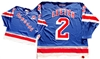 "Official CCM 550 New York Rangers ""A"" #2 Brian Leetch Jersey"
