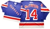 Official CCM 550 New York Rangers #14 Craig MacTavish Jersey