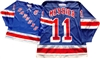 "Official CCM 550 New York Rangers ""C"" #11 Mark Messier Jersey"