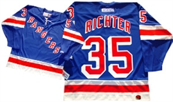 Official CCM 550 New York Rangers #35 Mike Richter Jersey