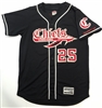 Alleson PROFVB Connetquot Chiefs Baseball Jersey Black