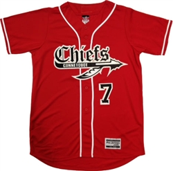 Alleson PROFVB Connetquot Chiefs Baseball Jersey